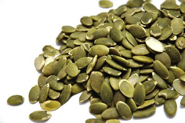 dry pumpkin seeds