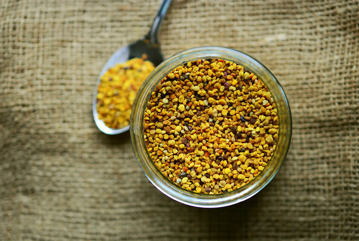 Bee pollen, or royal jelly?