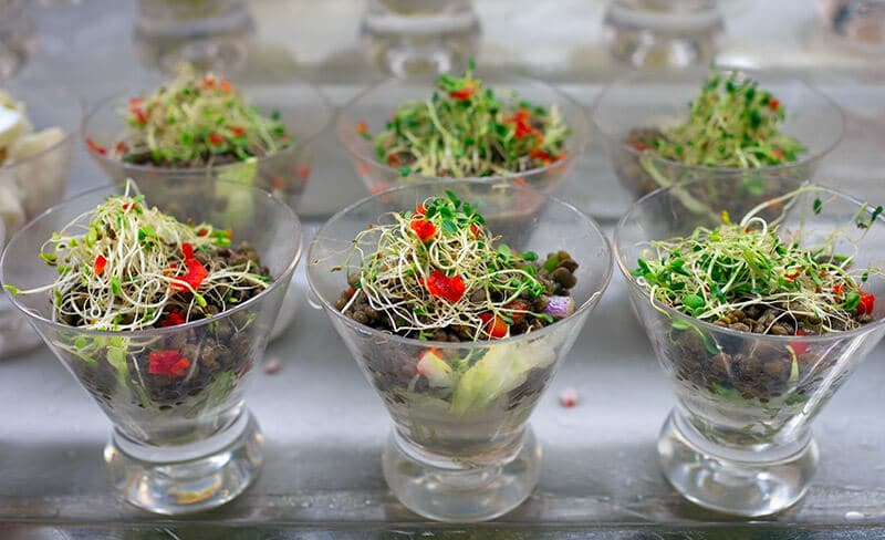 sprouts in salad